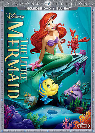 The Little Mermaid (Two-Disc Diamond Edition: Blu-ray / DVD in DVD Packaging), N