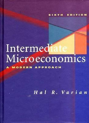 Intermediate Microeconomics: A Modern Approach by Varian, Hal R.