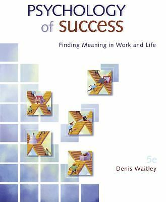 Psychology of Success, Denis Waitley, Acceptable Book