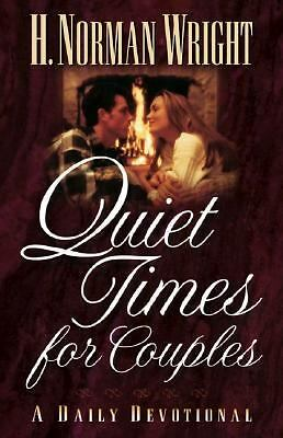 Quiet Times for Couples, Wright, H. Norman, Good Book