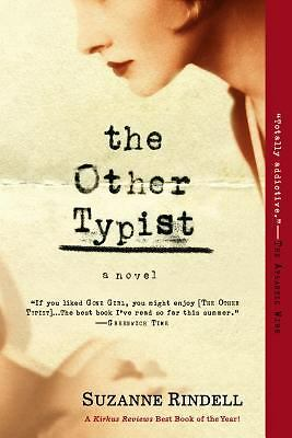 The Other Typist: A Novel - Rindell, Suzanne - New Condition