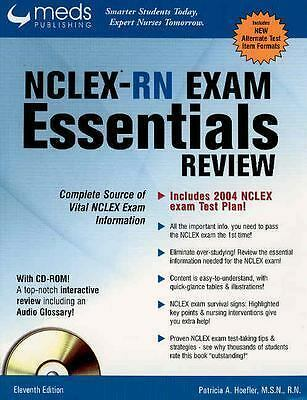 NCLEX-RN Exam Essentials Review (Book with CDROM), Hoefler, Patricia A., Accepta
