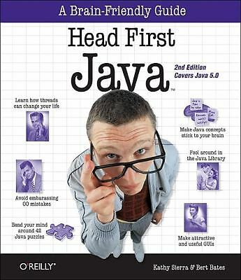 Head First Java, Kathy Sierra, Bert Bates, Bert Bates, Acceptable Book