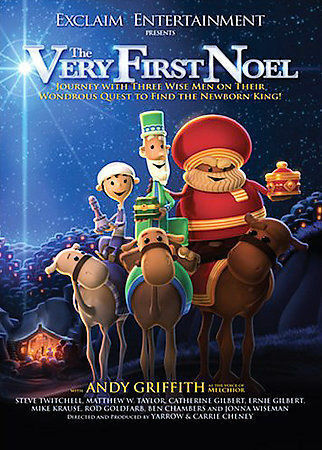 The Very First Noel, Good DVD, Voice of Andy Griffith,
