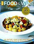 Food & Wine Magazine's 1999 Annual Cookbook  Magazine, Wine, Food