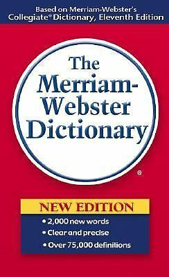 The Merriam-Webster Dictionary, Merriam-Webster, Acceptable Book