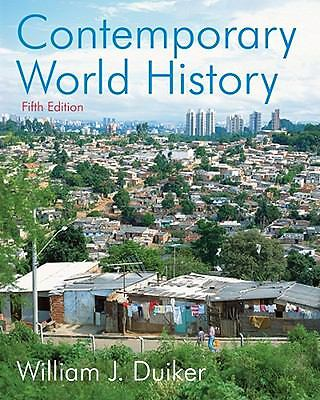 Contemporary World History, Duiker, William J., Acceptable Book