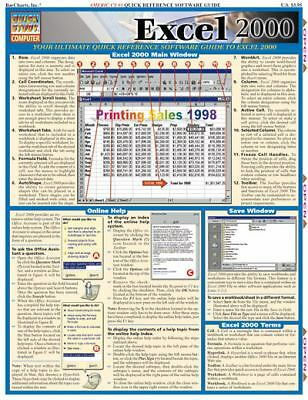 Excel 2000 (Computer Series), BarCharts, Inc., Acceptable Book