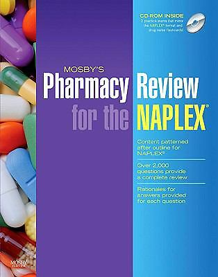Mosby's Pharmacy Review for the NAPLEX®, 1e, Mosby, Good Book