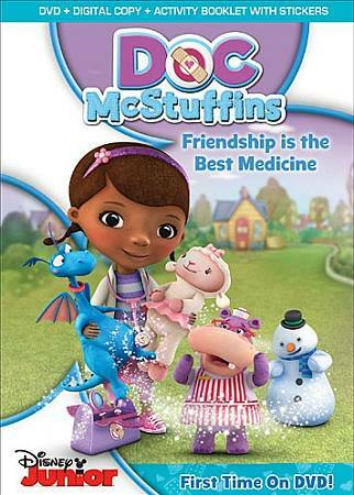 Doc McStuffins: Friendship Is The Best Medicine (DVD + Digital Copy) by -