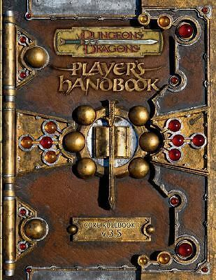 Dungeons & Dragons Player's Handbook: Core Rulebook 1, Vol. 3.5