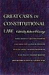 Great Cases in Constitutional Law,,  Acceptable  Book