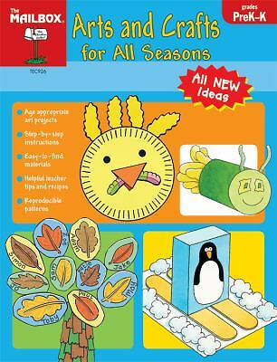 Arts and crafts for all seasons, The Mailbox Books Staff, Good, Books