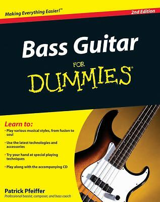 Bass Guitar For Dummies, Pfeiffer, Patrick, Acceptable Book