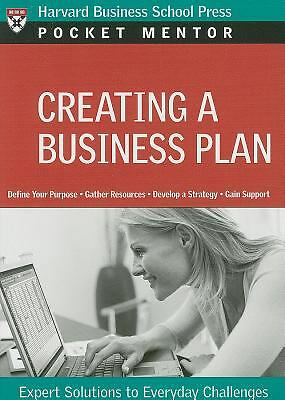 Creating a Business Plan (Pocket Mentor), Harvard Business Press, Acceptable Boo