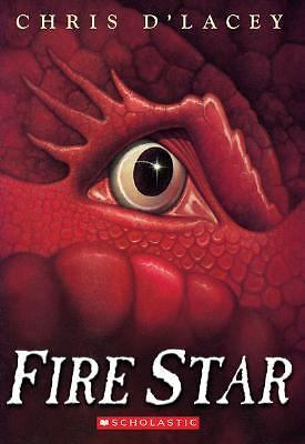 Fire Star (Last Dragon Chronicles),Chris D'lacey,  Acceptable  Book