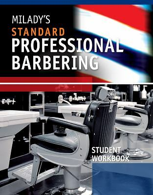 Student Workbook for Milady's Standard Professional Barbering by Milady