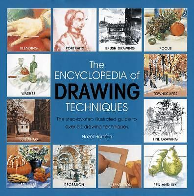 The Encyclopedia Of Drawing Techniques (Encyclopedia of Techniques),Harrison, Ha