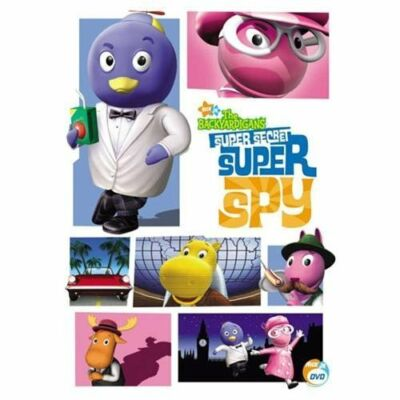 The Backyardigans - Super Secret Super Spy, Very Good DVD, ,