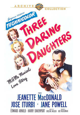 Three Daring Daughters, Very Good DVD, Harry Davenport, Edward Arnold, Jane Powe