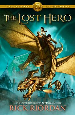 The Lost Hero (Heroes of Olympus, Book 1), Rick Riordan, Acceptable Book