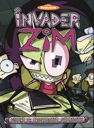 Invader ZIM - Progressive Stupidity (Vol. 2) by Jhonen Vasquez, Christine Grisw