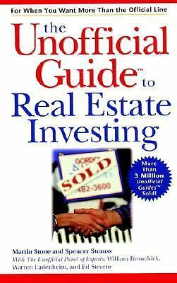 The Unofficial Guide to Real Estate Investing by Stone, Martin