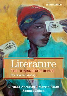 Literature: The Human Experience: Reading and Writing, Richard Abcarian, Marvin