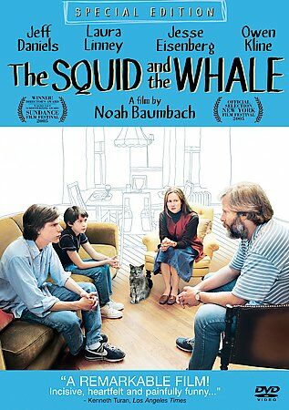 The Squid and the Whale (DVD 2006 Special Edition) Like New Condition