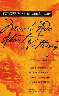 Much Ado About Nothing (Folger Shakespeare Library) - William Shakespeare - New