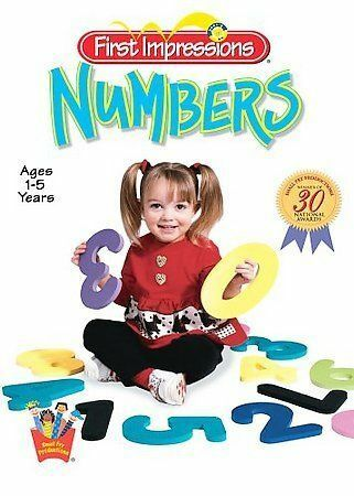 Baby's First Impressions: Numbers, Good DVD, ,