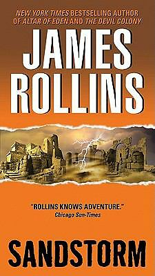 Sandstorm, James Rollins, Acceptable Book