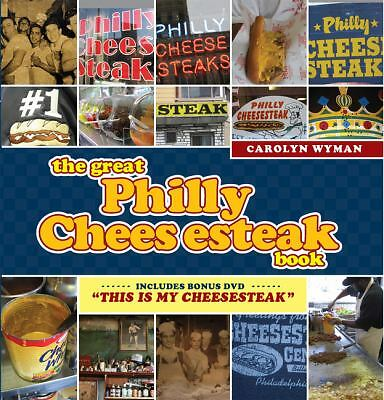 The Great Philly Cheesesteak Book, Wyman, Carolyn, Acceptable Book