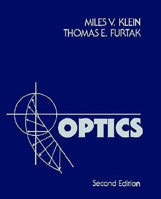 Optics, , Acceptable Book