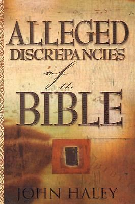Alleged Discrepancies Of The Bible, HALEY JOHN, Acceptable Book