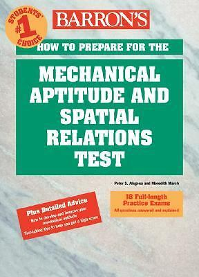 How to Prepare for the Mechanical Aptitude and Spatial Relations Tests (Barron's