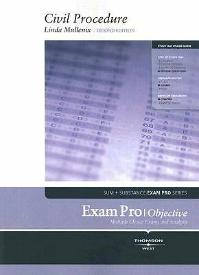 Mullenix's Exam Pro on Civil Procedure, 2d  Linda S Mullenix