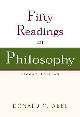 Fifty Readings in Philosophy, Abel, Donald C., Acceptable Book