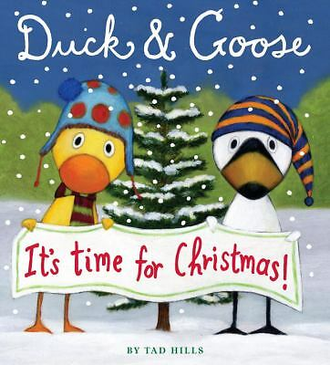 Duck & Goose, It's Time for Christmas! (Oversized Board Book) by Hills, Tad