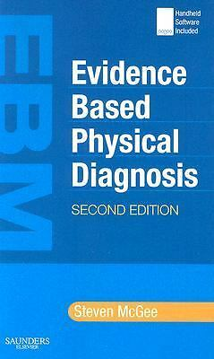 Evidence-Based Physical Diagnosis, 2e, McGee, Steven, Acceptable Book