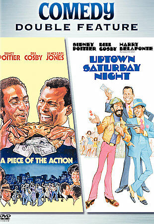 A Piece of the Action / Uptown Saturday Night  Sidney Poitier, Bill Cosby, Harr