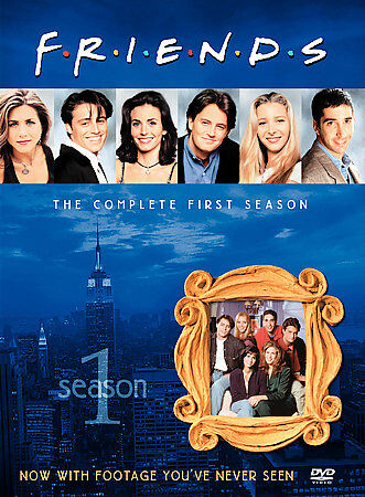Friends: Season 1 by Jennifer Aniston, Courteney Cox, Lisa Kudrow, Matt LeBlanc