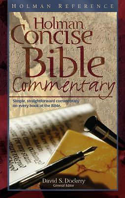 The Holman Concise Bible Commentary (Holman Reference), Dockery, David S., Accep