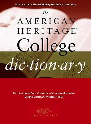The American Heritage College Dictionary, Fourth Edition by