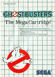 Sega Master System Ghostbusters