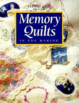 Memory Quilts in the Making (For the Love of Quilting), , Good, Books