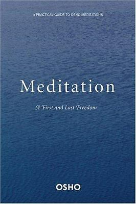 Meditation: The First and Last Freedom - Osho - Very Good Condition