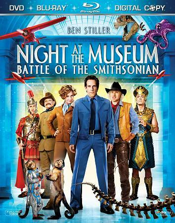 Night at the Museum: Battle of the Smithsonian (Three-Disc Blu-ray/DVD/Digital C