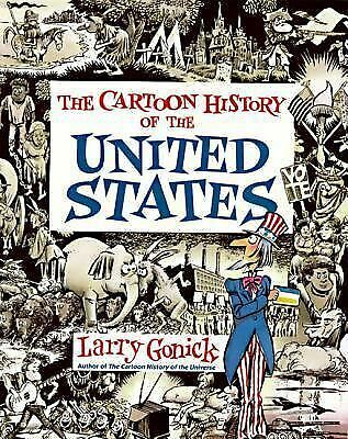 Cartoon History of the United States, Larry Gonick, Good, Books