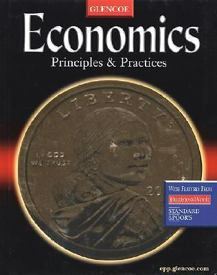 Economics: Principles and Practices, McGraw-Hill Education, Good, Books